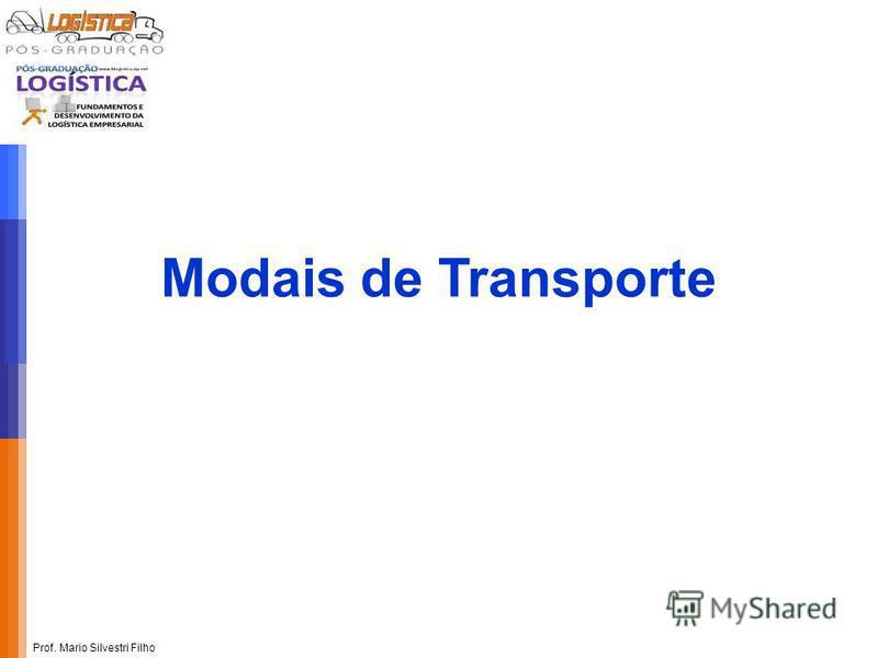 Prof. Mario Silvestri Filho Modais de Transporte