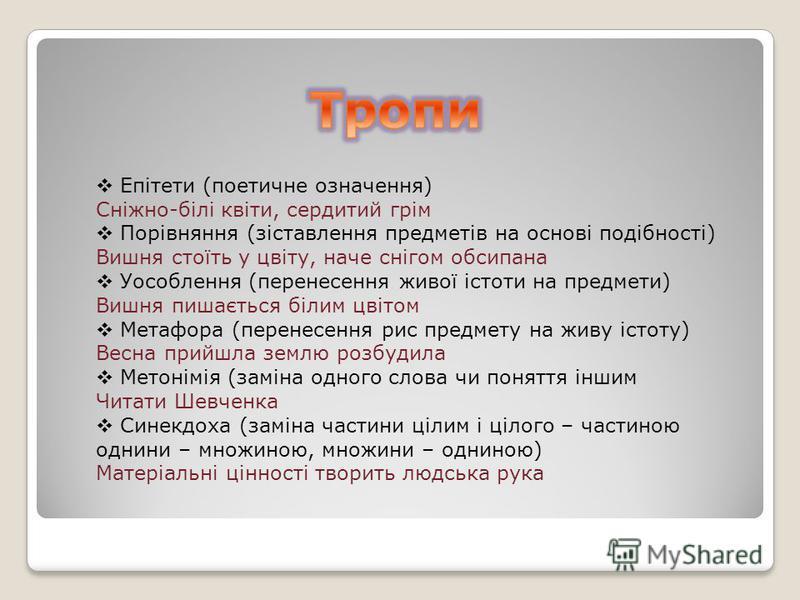 Українська література Хвилинка ЗНО