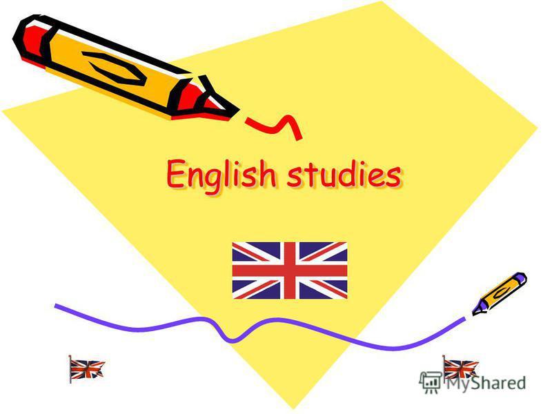 English studies English studies