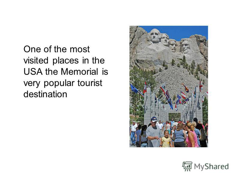 One of the most visited places in the USA the Memorial is very popular tourist destination