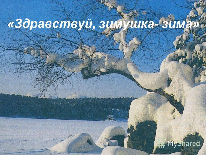 «Здравствуй, зимушка- зима»