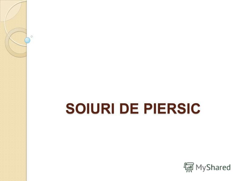 SOIURI DE PIERSIC