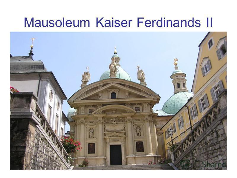 Mausoleum Kaiser Ferdinands II