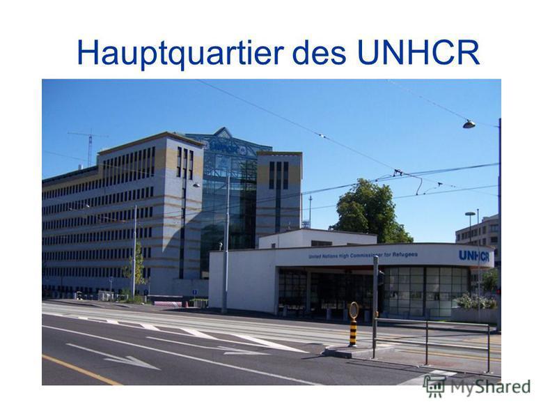 Hauptquartier des UNHCR