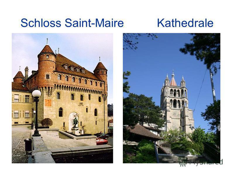 Schloss Saint-Maire Kathedrale