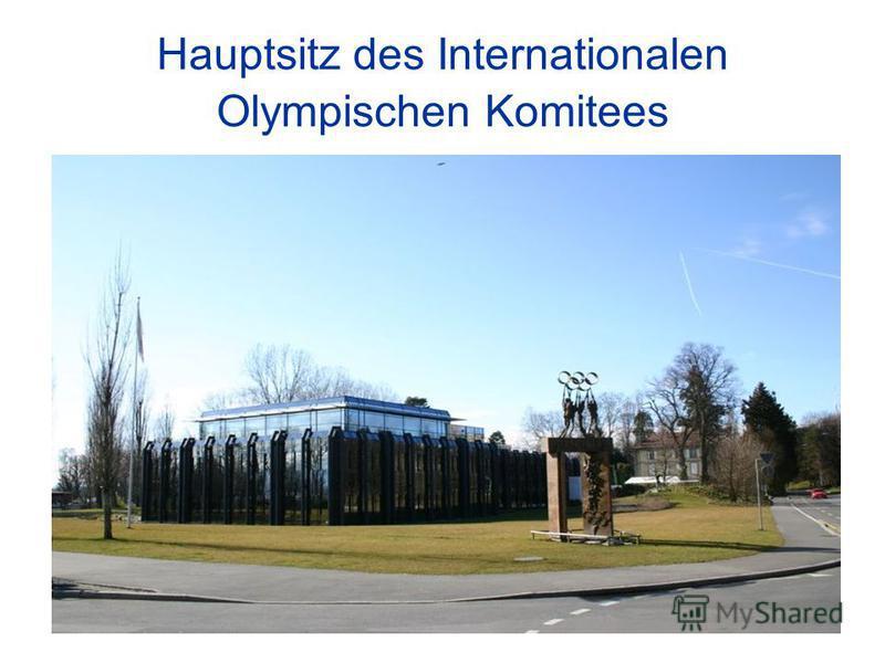 Hauptsitz des Internationalen Olympischen Komitees