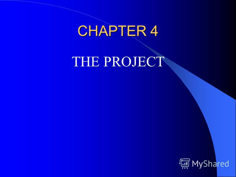 CHAPTER 4 THE PROJECT
