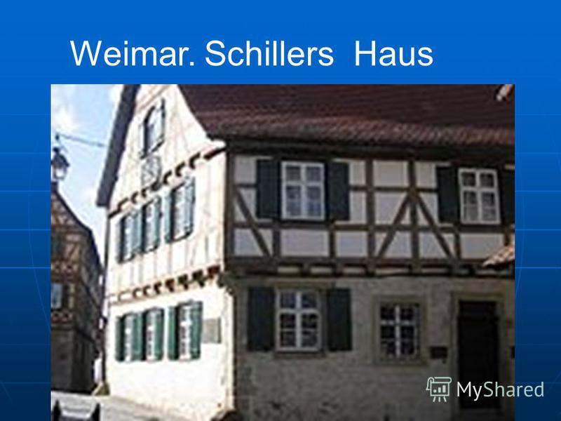 Weimar. Schillers Haus