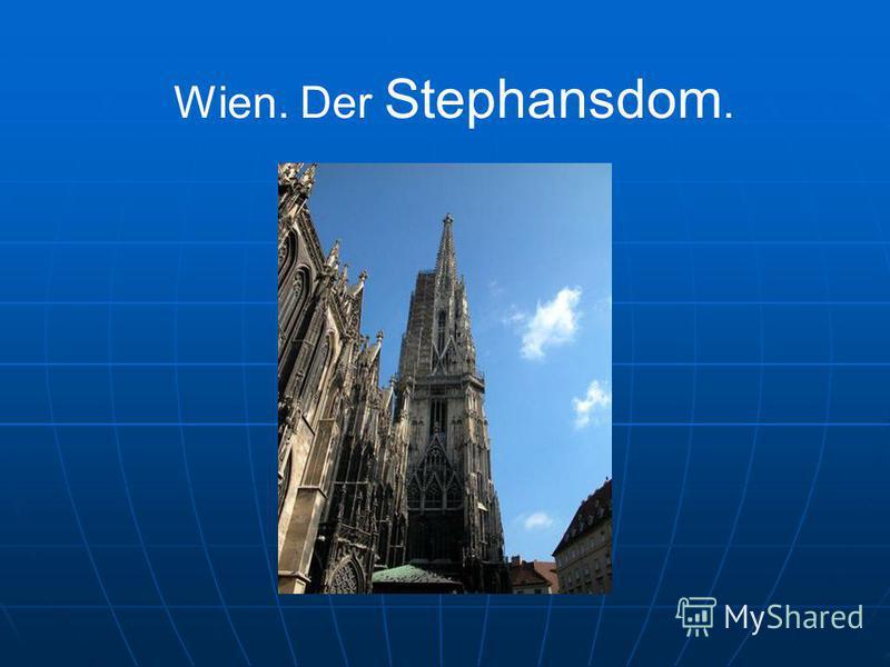 Wien. Der Stephansdom.