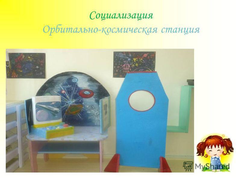 Социализация Орбитально-космическая станция
