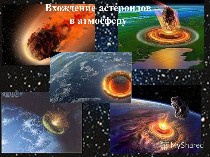 М Вхождение астероидов в атмосферу