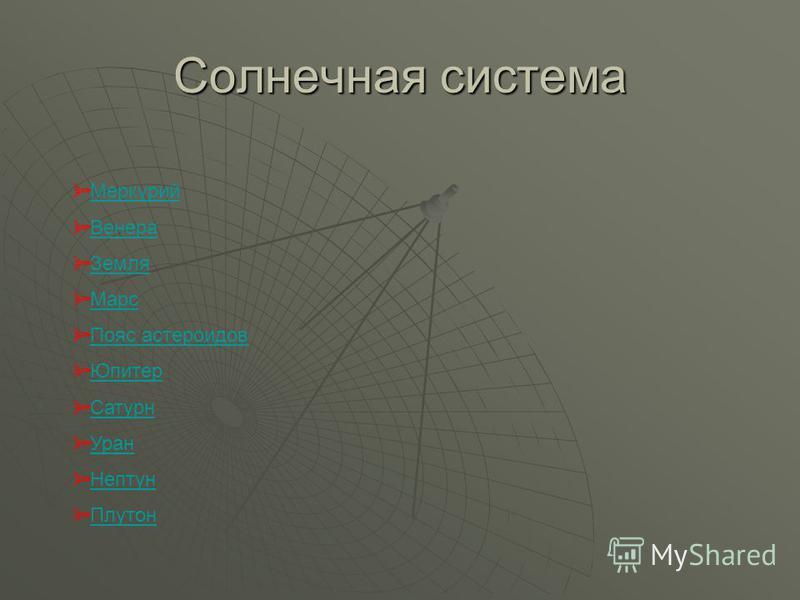 Астрономия Астрономия Солнечная система Солнечная система
