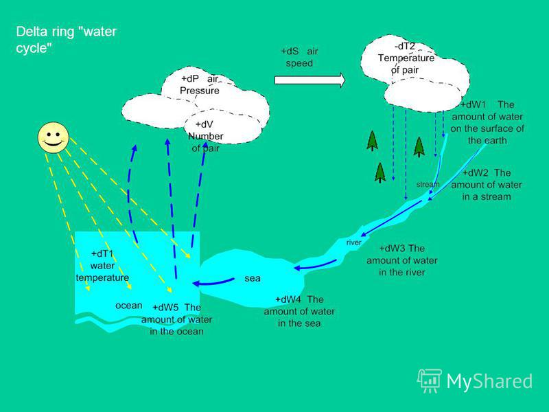 Delta ring water cycle