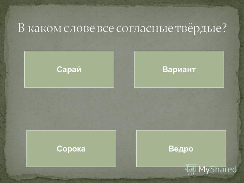 Сарай Вариант Сорока Ведро