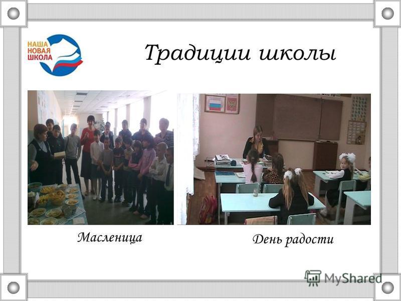 Традиции школы Масленица День радости