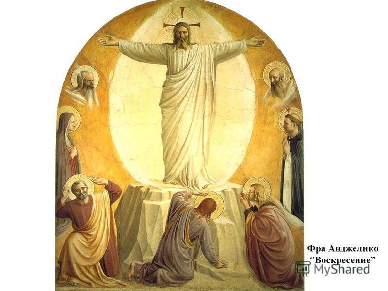 Фра Анджелико Воскресение