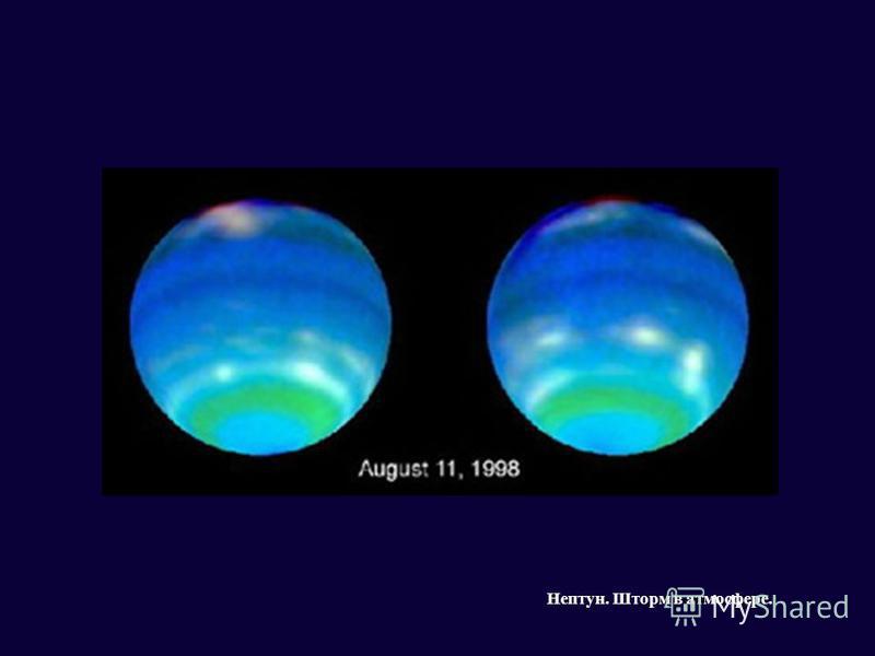 Нептун. Шторм в атмосфере.
