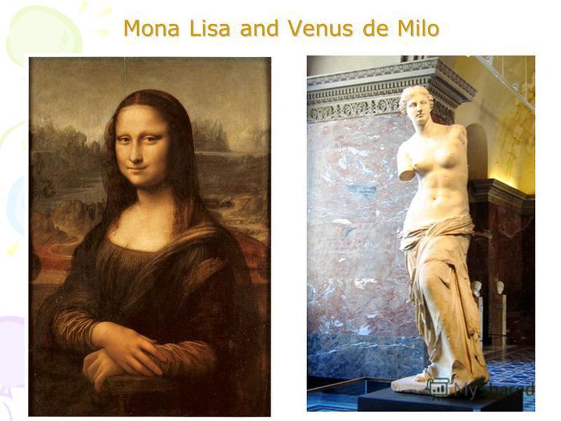 Mona Lisa and Venus de Milo