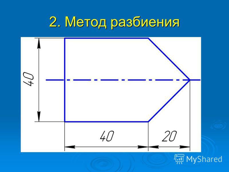 2. Метод разбиения