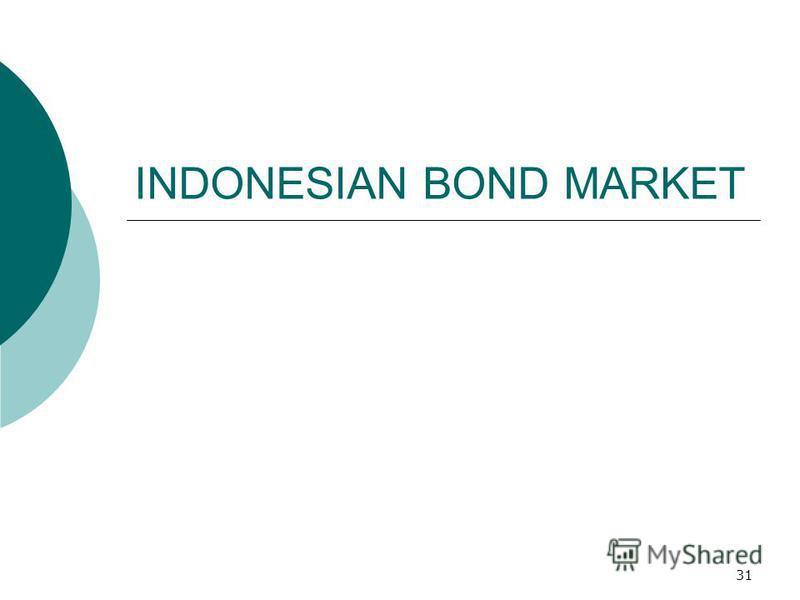 31 INDONESIAN BOND MARKET