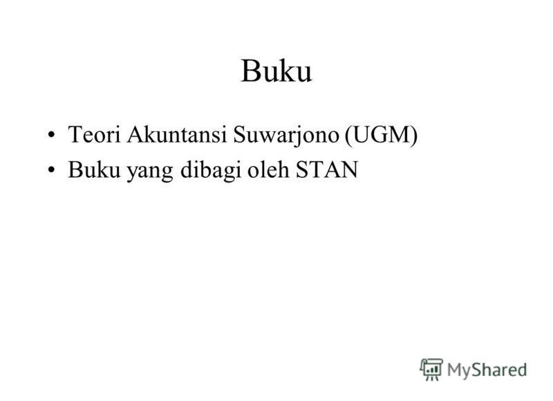 Buku Teori Akuntansi Suwarjono (UGM) Buku yang dibagi oleh STAN