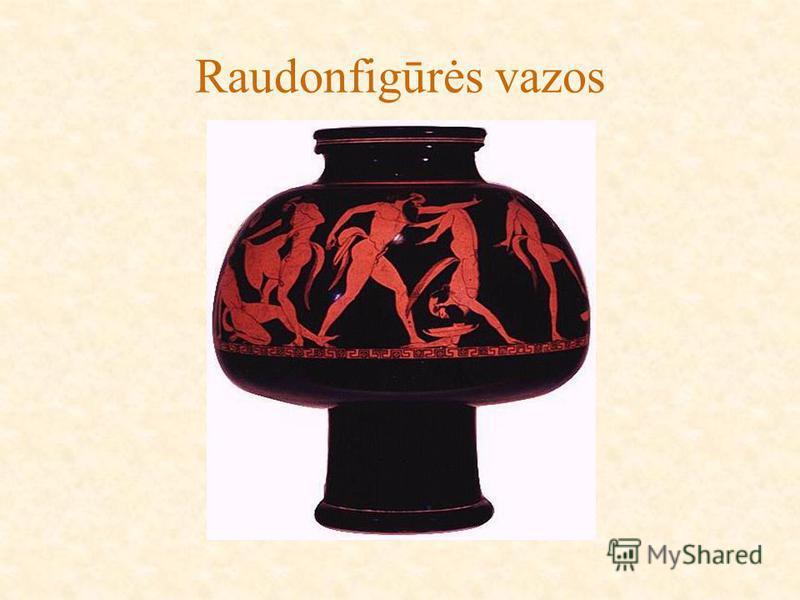 Raudonfigūrės vazos
