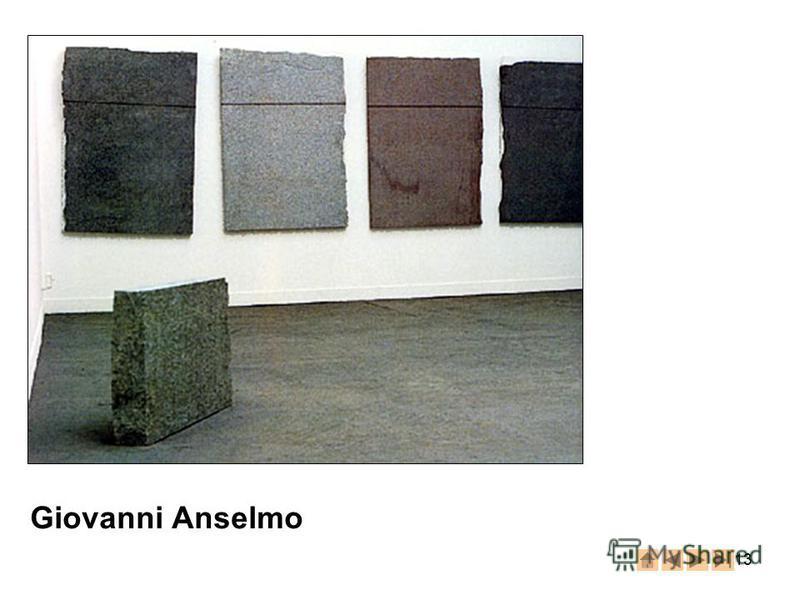 13 Giovanni Anselmo