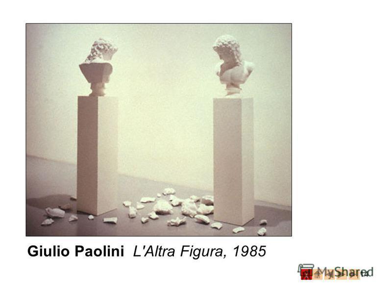 14 Giulio Paolini L'Altra Figura, 1985