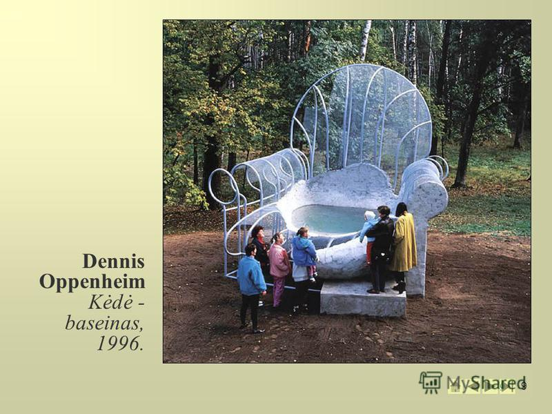 9 9 Dennis Oppenheim Kėdė - baseinas, 1996.