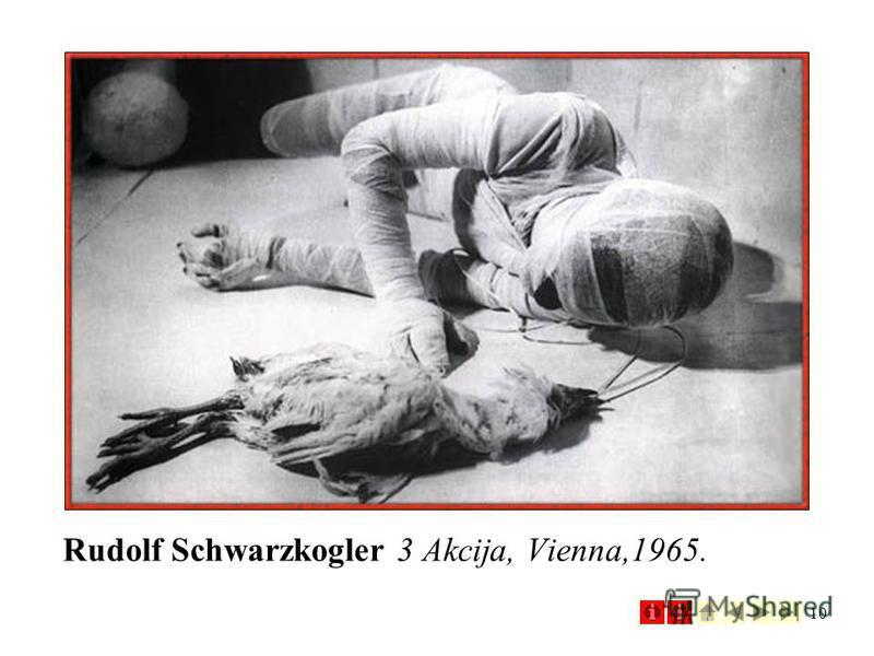 10 Rudolf Schwarzkogler 3 Akcija, Vienna,1965.