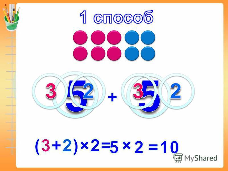 Сколько красных кружков в ряду? Сколько синих кружков в ряду? Сколько рядов кружков? Сколько всего кружков?