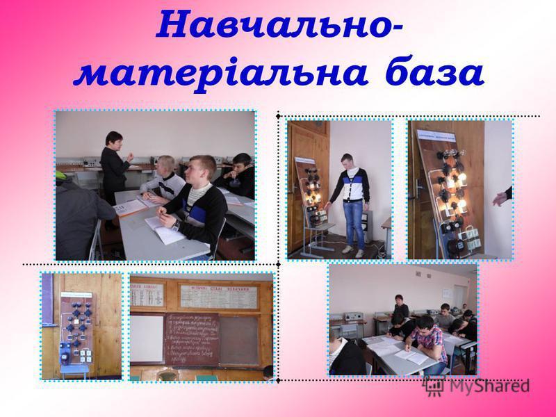 Навчально- матеріальна база