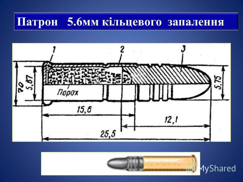 Патрон 5.6мм кільцевого запалення