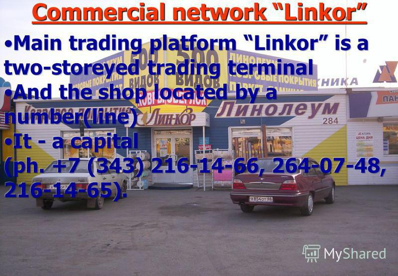 Commercial network Linkor