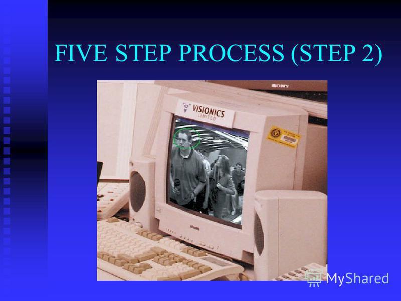 FIVE STEP PROCESS (STEP 2)