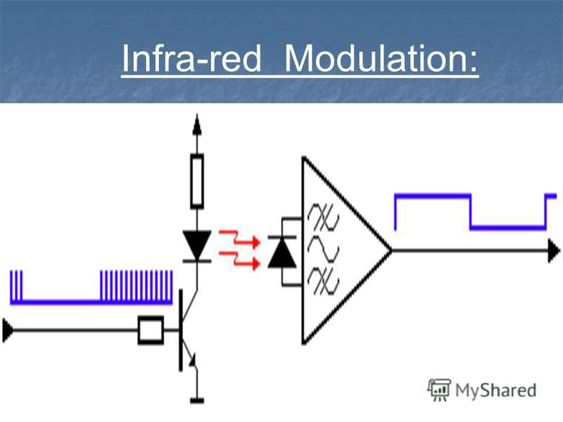 Infra-red Modulation: