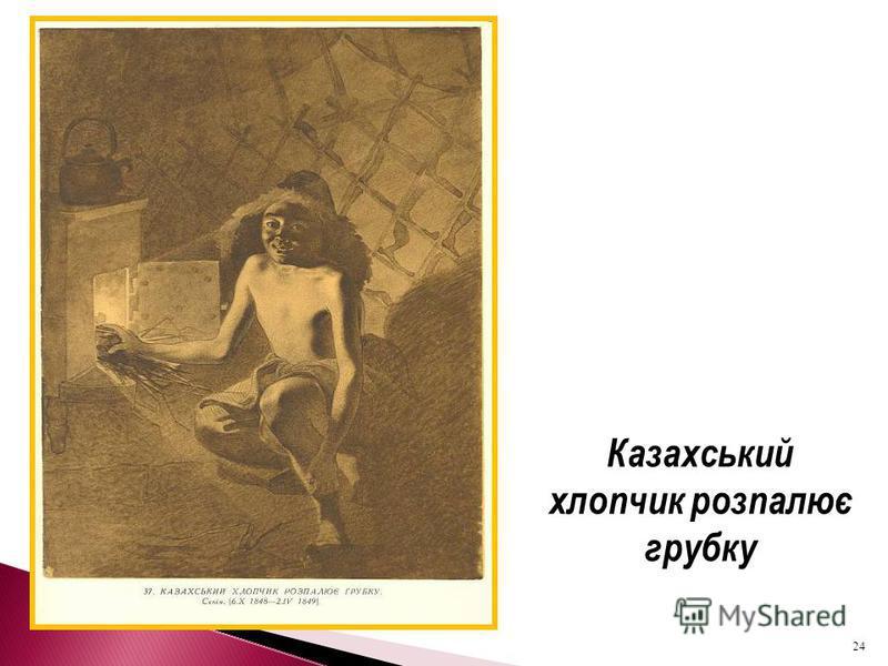 Казахський хлопчик розпалює грубку 24