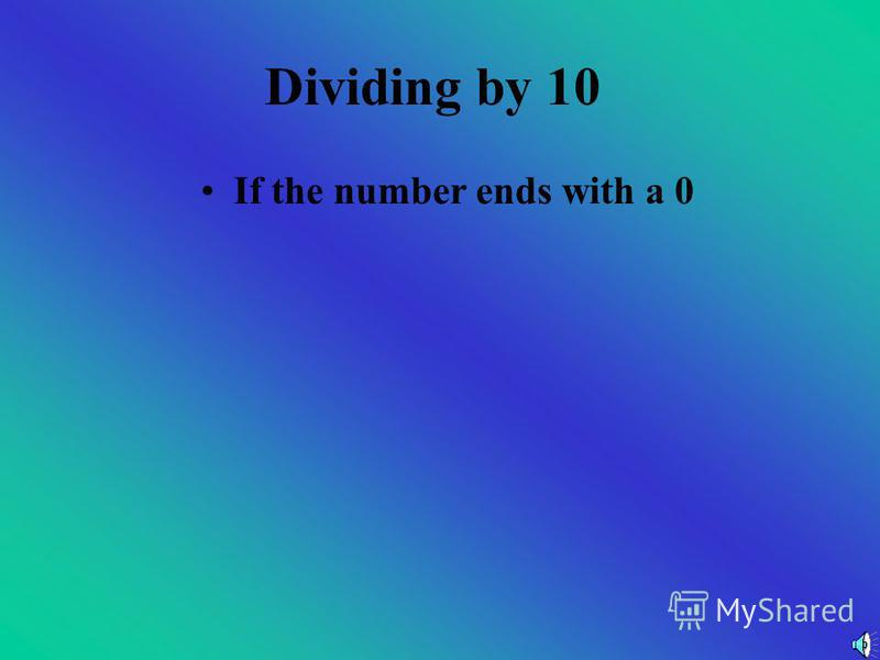 Now You Try Are these numbers divisible by 9? a)578 b)398 c)48 d)1903 e)490