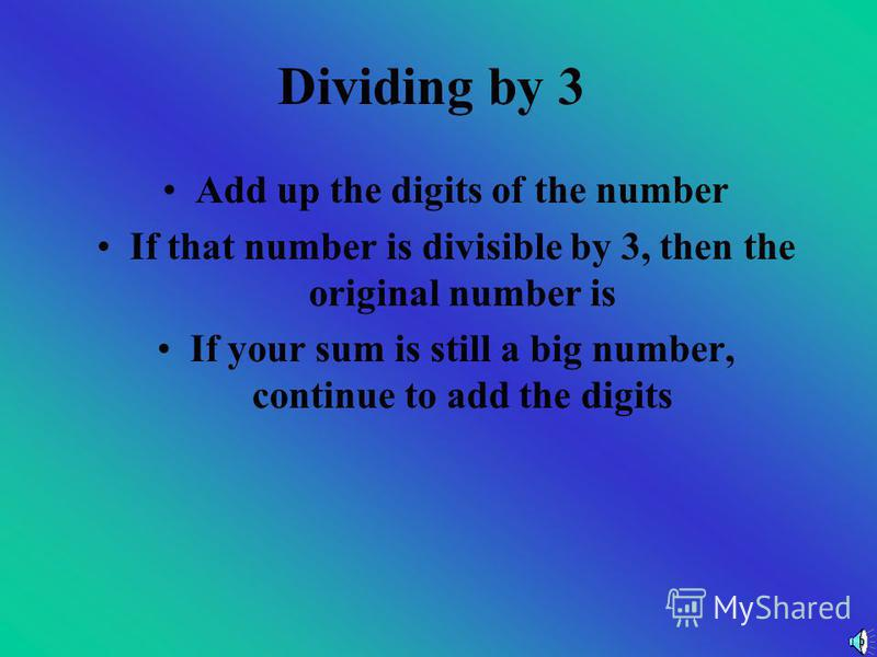 Now You Try Are these numbers divisible by 2? a)458 b)1279 c)759 d)555 e)1050