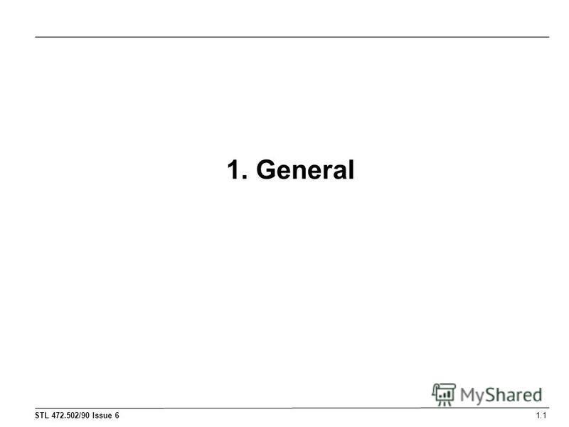 1. General 1.1