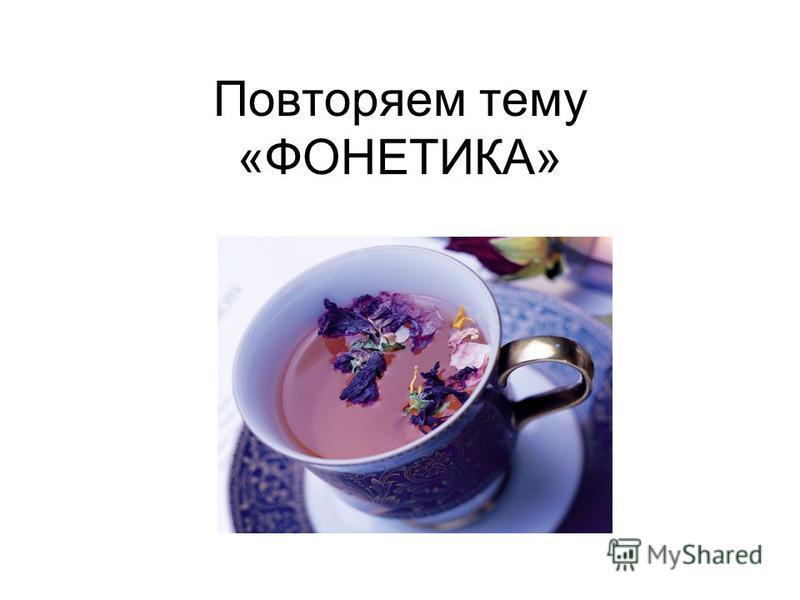 Повторяем тему «ФОНЕТИКА»