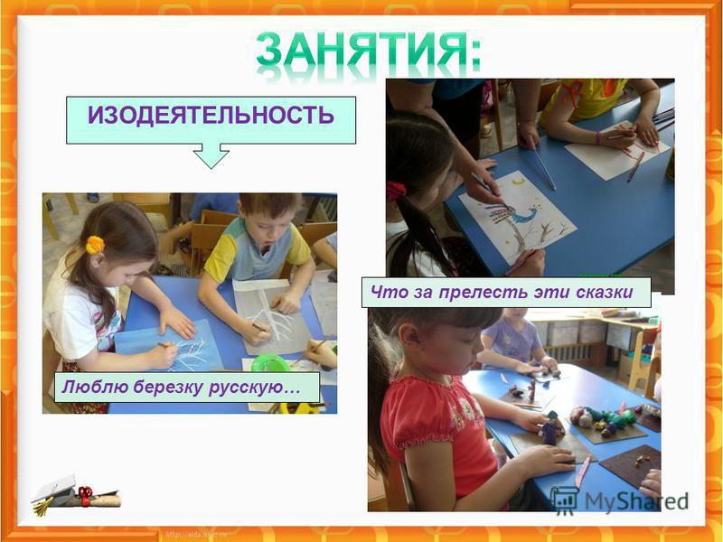 Люблю березку русскую… Что за прелесть эти сказки ИЗОДЕЯТЕЛЬНОСТЬ