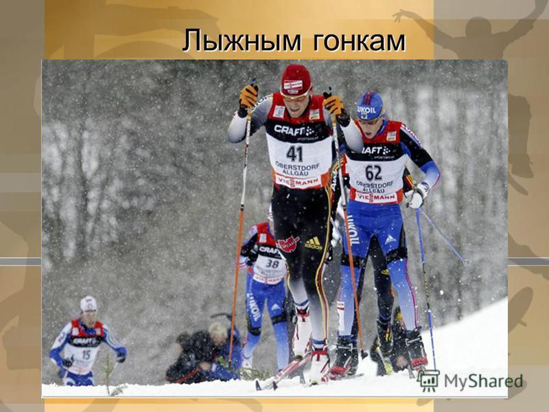 Лыжным гонкам