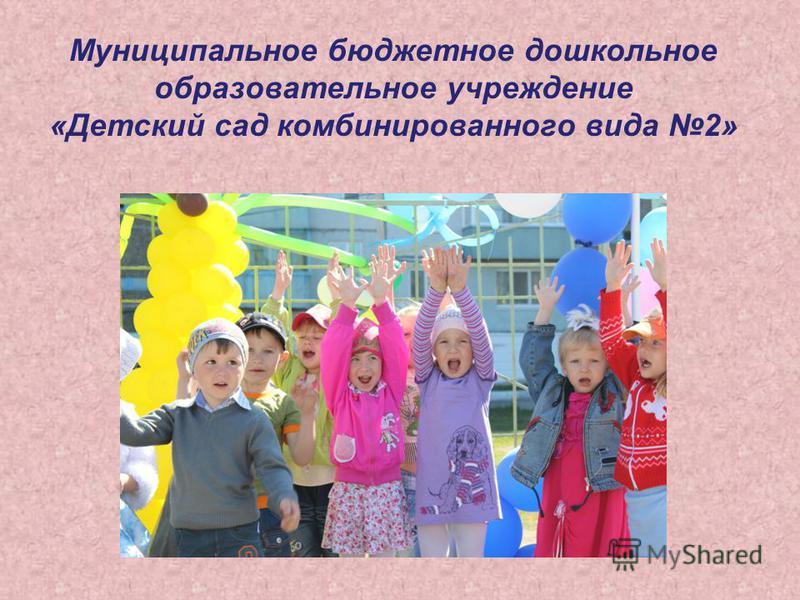Муниципальное бюджетное дошкольное образовательное учреждение «Детский сад комбинированного вида 2»