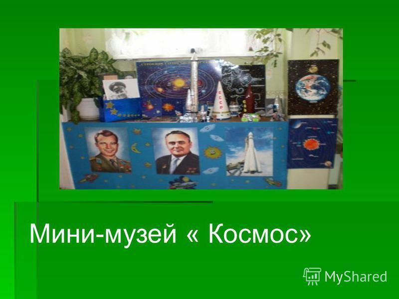 Мини-музей « Космос»