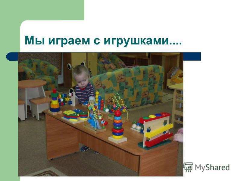 Мы играем с игрушками....