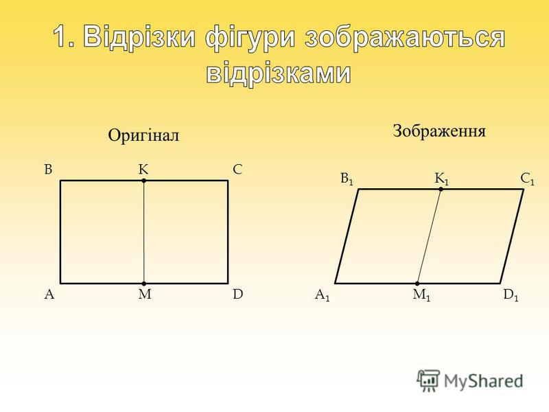 Оригінал Зображення K MA BC D B1B1 A1A1 D1D1 C1C1 K1K1 M1M1