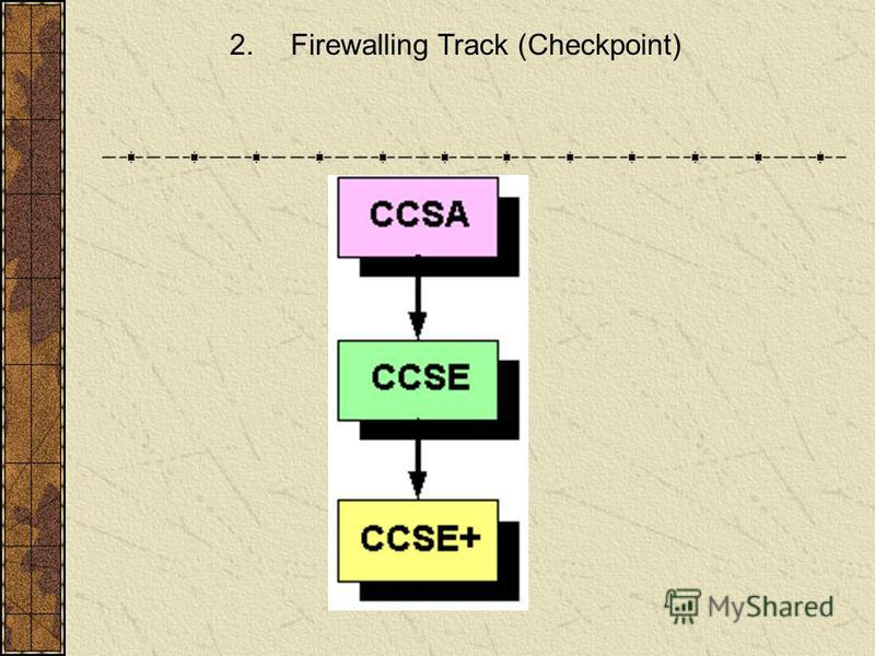 2. Firewalling Track (Checkpoint)