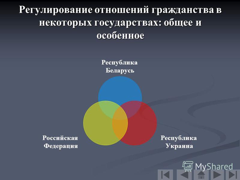 Презентация на тему Гражданство в государствах СНГ Магистерская  10 Регулирование отношений гражданства