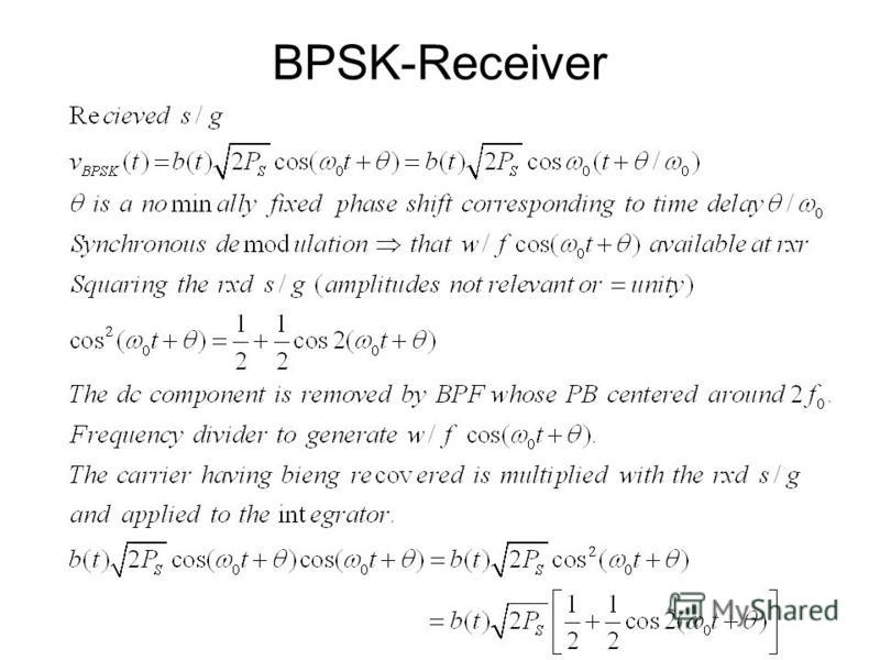BPSK-Receiver